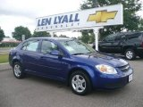 2007 Laser Blue Metallic Chevrolet Cobalt LT Sedan #14708443