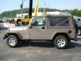 2006 Light Khaki Metallic Jeep Wrangler Unlimited 4x4 #14649049