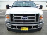 2010 Oxford White Ford F350 Super Duty Lariat Crew Cab 4x4 Dually #14707899