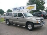 2003 Light Pewter Metallic Chevrolet Silverado 1500 LS Extended Cab 4x4 #14708424