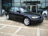 2002 Jet Black BMW 3 Series 325i Sedan #14712150