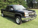 2003 Black Chevrolet Silverado 1500 HD Crew Cab 4x4 #14713851