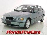 2003 Grey Green Metallic BMW 3 Series 325i Sedan #14707127