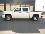 2009 Summit White Chevrolet Silverado 1500 LT Crew Cab 4x4 #14720523