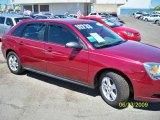 2005 Sport Red Metallic Chevrolet Malibu Maxx LS Wagon #14720805