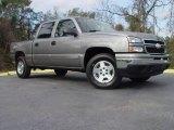 2007 Graystone Metallic Chevrolet Silverado 1500 Classic LT Crew Cab 4x4 #1477439