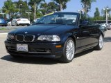 2002 Orient Blue Metallic BMW 3 Series 330i Convertible #14782696