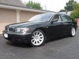2003 Black Sapphire Metallic BMW 7 Series 745Li Sedan #14790131