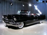 Black Cadillac Series 62 in 1955