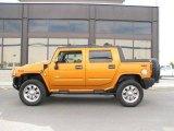 2006 Fusion Orange Hummer H2 SUT #14798418