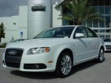2008 Ibis White Audi A4 2.0T Special Edition Sedan #1474501