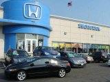 2007 Nighthawk Black Pearl Honda Civic EX Coupe #14787366