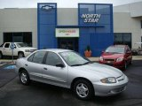 2003 Ultra Silver Metallic Chevrolet Cavalier Sedan #14790366