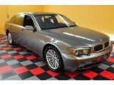 2003 Titanium Grey Metallic BMW 7 Series 745Li Sedan #14843553