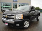 2008 Black Chevrolet Silverado 1500 LT Regular Cab #14786020