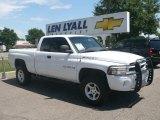 2001 Bright White Dodge Ram 1500 Sport Club Cab 4x4 #14786568