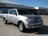 2005 Silver Sky Metallic Toyota Tundra SR5 Double Cab #1442549