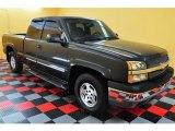 2004 Dark Gray Metallic Chevrolet Silverado 1500 Z71 Extended Cab 4x4 #14843539