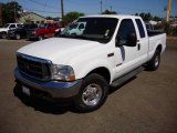2004 Oxford White Ford F250 Super Duty Lariat SuperCab #14844464