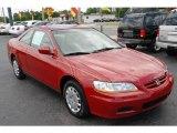 2002 San Marino Red Honda Accord LX Coupe #14795534