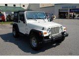 2006 Stone White Jeep Wrangler Sport 4x4 #14793774