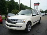 2007 White Chocolate Tri-Coat Lincoln Navigator L Luxury 4x4 #14789649