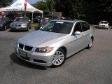2006 Titanium Silver Metallic BMW 3 Series 325i Sedan #14827261
