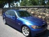2007 Montego Blue Metallic BMW 3 Series 335i Sedan #14832548