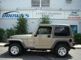 2006 Light Khaki Metallic Jeep Wrangler X 4x4 #14827616