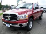 2006 Inferno Red Crystal Pearl Dodge Ram 1500 SLT Quad Cab 4x4 #14838429