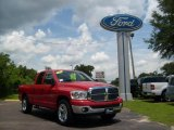 2007 Flame Red Dodge Ram 1500 Thunder Road Quad Cab #14832986