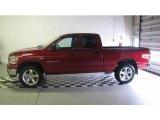 2007 Inferno Red Crystal Pearl Dodge Ram 1500 Big Horn Edition Quad Cab 4x4 #14844810