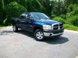 2008 Patriot Blue Pearl Dodge Ram 1500 TRX4 Quad Cab 4x4 #14837469
