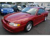 1995 Laser Red Metallic Ford Mustang V6 Coupe #14938500