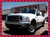 2003 Oxford White Ford F250 Super Duty King Ranch Crew Cab 4x4 #14934450