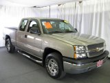 2003 Light Pewter Metallic Chevrolet Silverado 1500 Z71 Extended Cab 4x4 #14934456