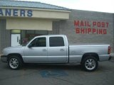 2003 Light Pewter Metallic Chevrolet Silverado 1500 HD Crew Cab #14936278