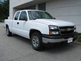 2006 Summit White Chevrolet Silverado 1500 LS Extended Cab #14937386