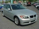 2007 Titanium Silver Metallic BMW 3 Series 328xi Sedan #14941147