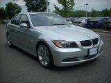 2007 Titanium Silver Metallic BMW 3 Series 335i Sedan #14924254