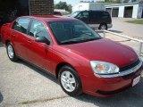 2005 Sport Red Metallic Chevrolet Malibu LS V6 Sedan #14988829