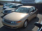 2001 Medium Gold Saturn L Series L300 Sedan #14988833