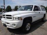 2001 Bright White Dodge Ram 1500 Sport Club Cab 4x4 #15037541