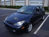 2003 Twilight Blue Metallic Ford Focus ZX3 Coupe #15037513