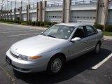 2001 Bright Silver Saturn L Series L300 Sedan #15037553