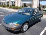 1998 Manta Green Metallic Chevrolet Cavalier Coupe #15037521