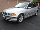 2001 Titanium Silver Metallic BMW 3 Series 325i Sedan #15060773