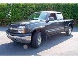 2005 Dark Gray Metallic Chevrolet Silverado 1500 Z71 Extended Cab 4x4 #15054370
