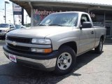 2002 Light Pewter Metallic Chevrolet Silverado 1500 LS Regular Cab #15056748