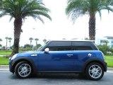 2007 Lightning Blue Metallic Mini Cooper S Hardtop #15051210